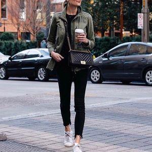 Acne Skin 5 Black Jeans raw/Distressed Hem